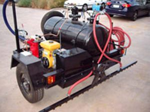 bitumen emulsion sprayer road construction machine manufacture