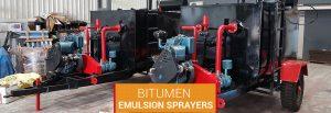 road equipment,Bitumen Emulsion sprayers supplier in Maharashtra