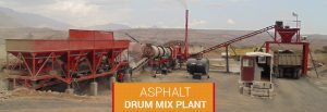 road equipment Exporter - Asphalt Drum mixing plant in vasai