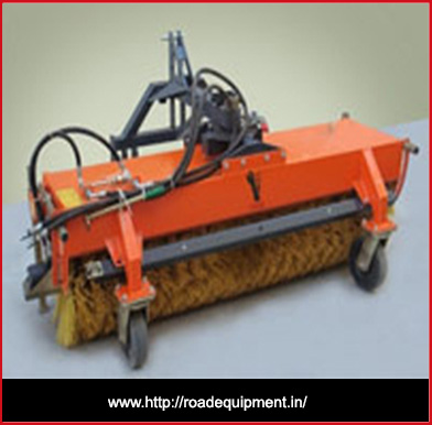 road equipment manufacturers,road broomer machine in Gujarat