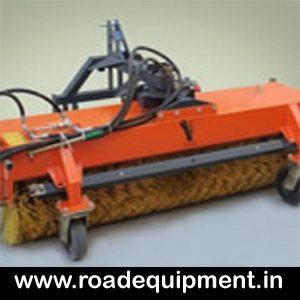 hydraulic road broomer machine, Sweeping machine manufacturer in India