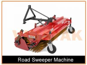 Tractor Mounted Road Sweeping Machine, Road Sweeping Machine Manufacturers in Gujarat