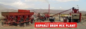 asphalt mixing plant- asphalt drum mix plant manufacturer in India