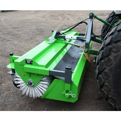Hydraulic-road-broomer-machine