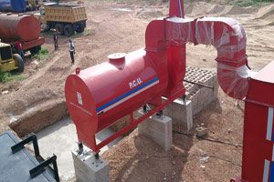 asphalt drum mix plant - road equipment manufacture and supplier in india