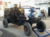 Bitumen Emulsion Sprayers,road equipment  India