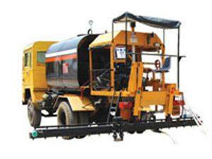 bitumen pressure distributors, road construction machine