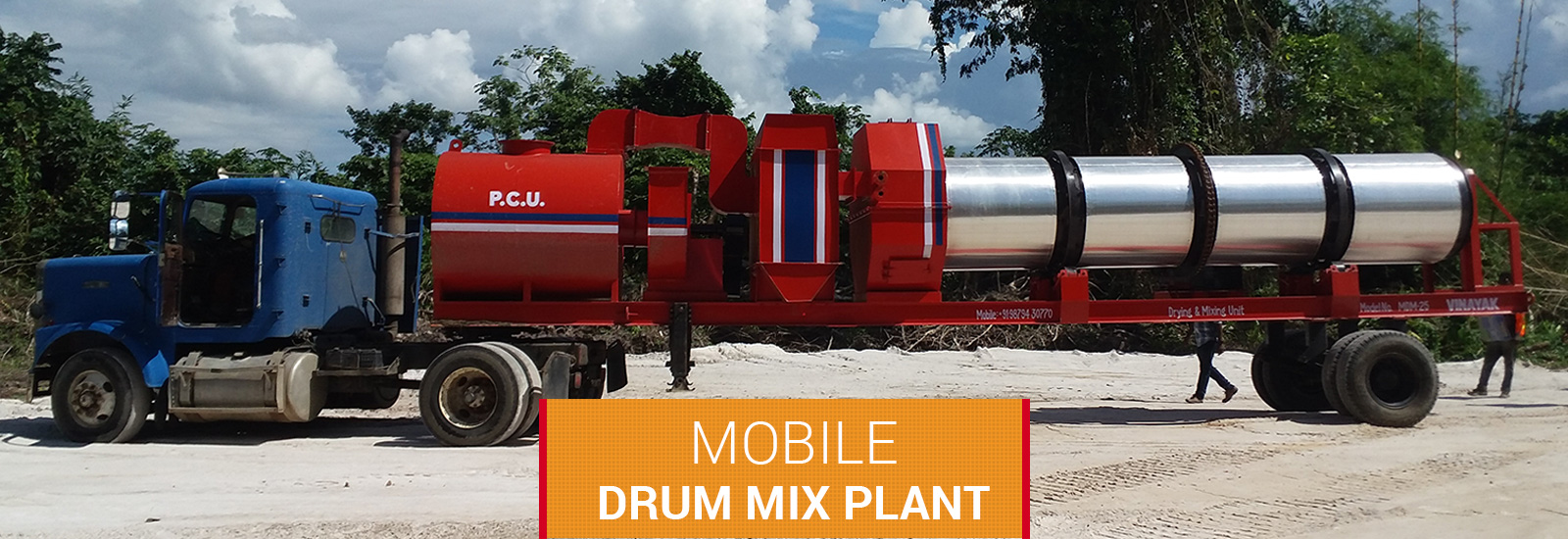 road equipment manufacturers,Mobile Drum mix plant in Mumbai