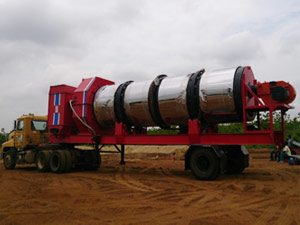 mobile drum mix plant-road construction machine supplier