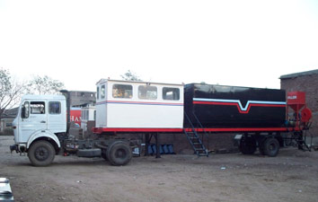 Mobile Asphalt Plant Supplier,road equipment India