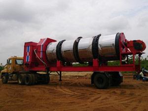mobile drum mix plant-road construction machine supplier