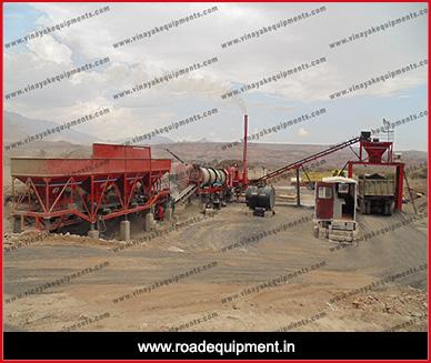 road equipment Supplier - asphalt drum mixing plant in Nepal
