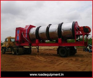 road equipment,mobile drum mixing plant machine manufacture in Gujarat