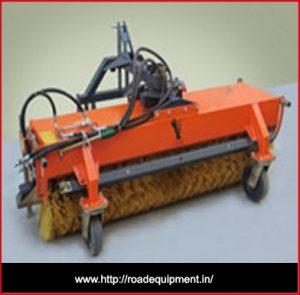 road equipment manufacturers,road broomer machine in Gujarat