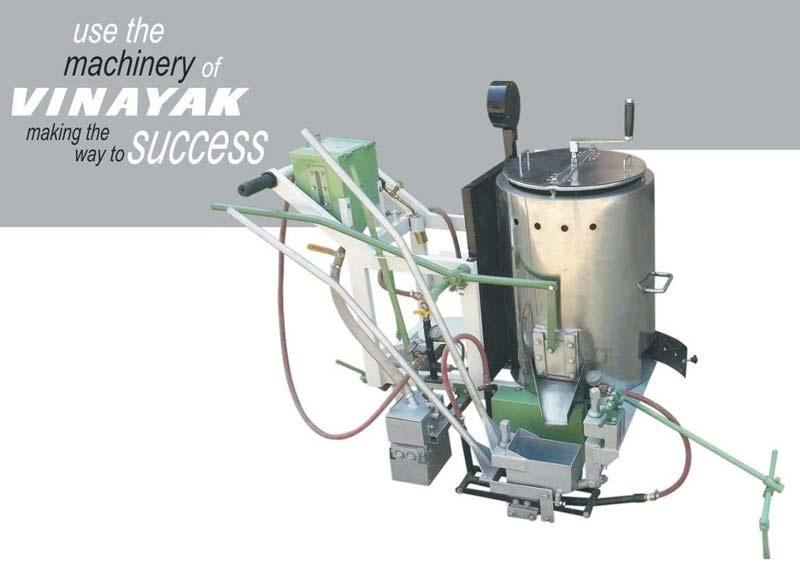 Semi automatic line making machine manufacturers in Gujarat