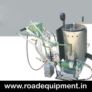 Hand Push Thermoplastic Road Marking Machine India