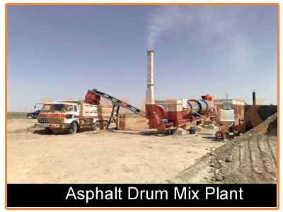 used asphalt drum mix plant for sale in india