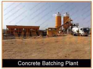 mobile concrete batching plant price
