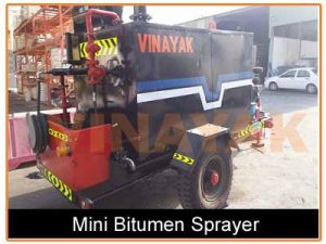 bitumen sprayer machine
