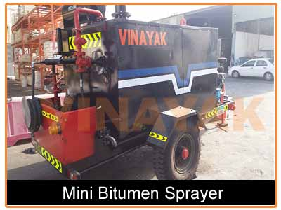 bitumen sprayer machine