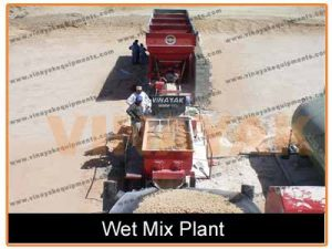 wet mix macadam plant price in india
